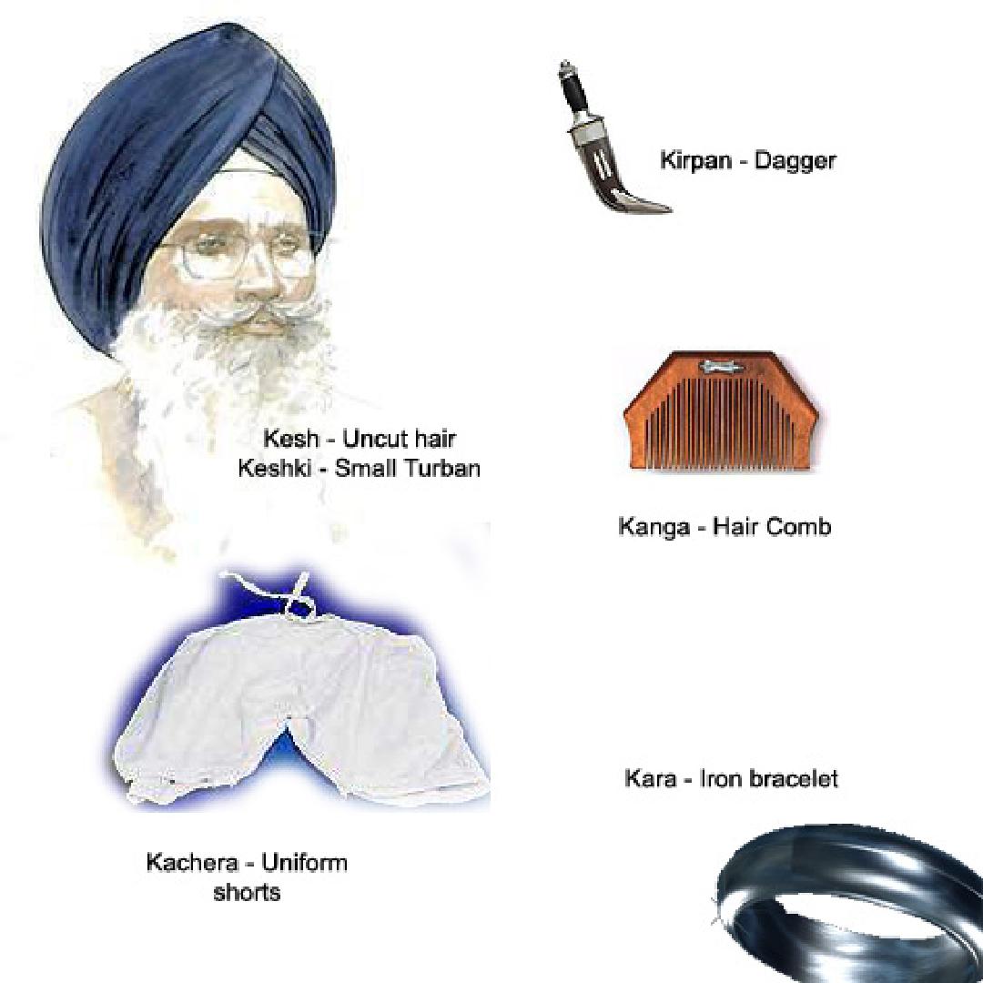 Sikhismo e i capelli